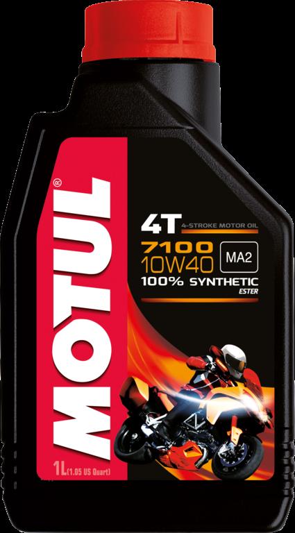 Motul 7100 10W40 4Т Синтетическое моторное масло для 4-х тактных мотоциклов