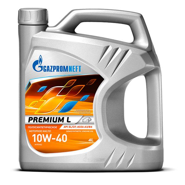 Gazpromneft Premium L 10W40 Полусинтетическое моторное масло