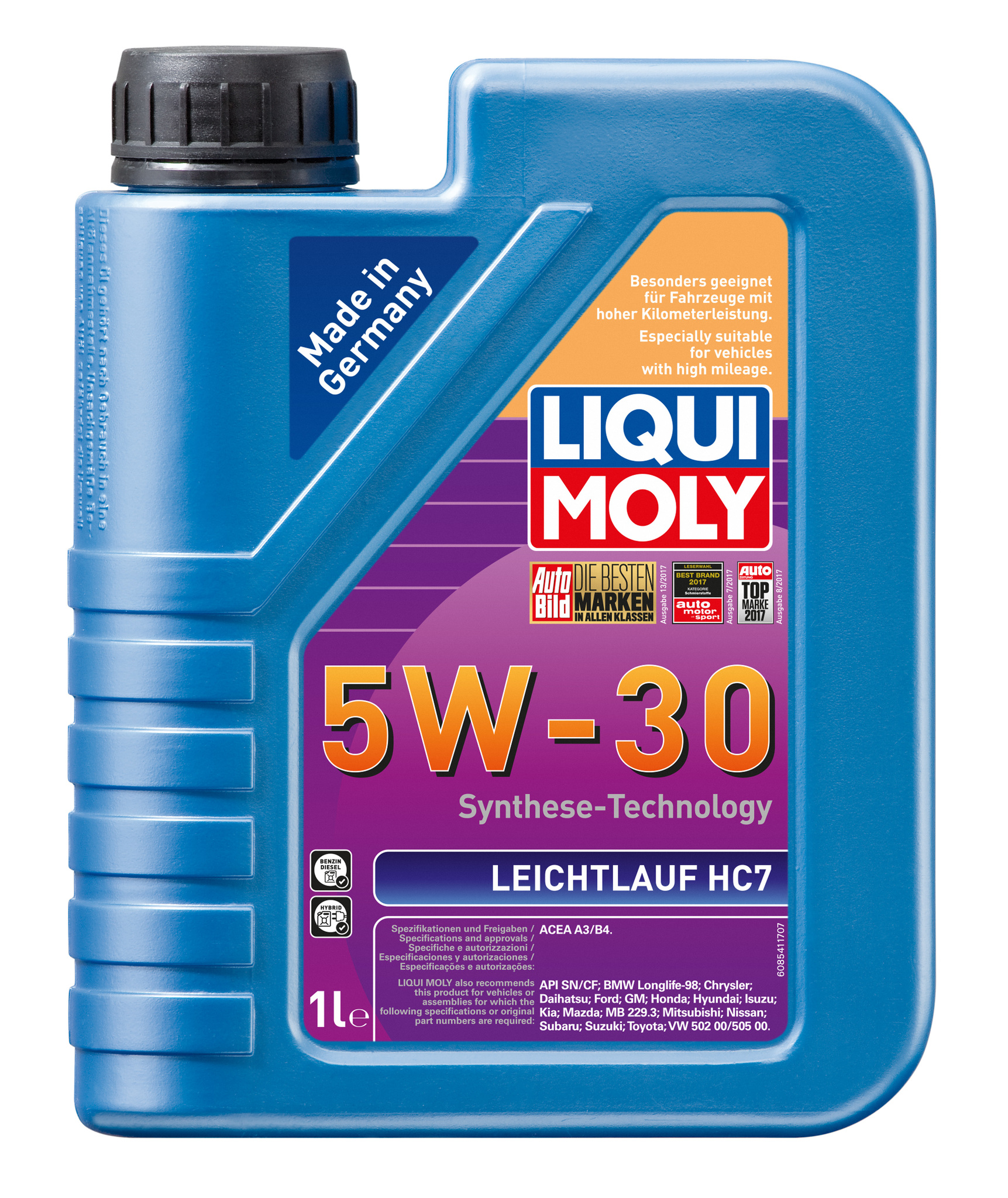 Liqui Moly Leichtlauf HC 7 5W30 НС-синтетическое моторное масло