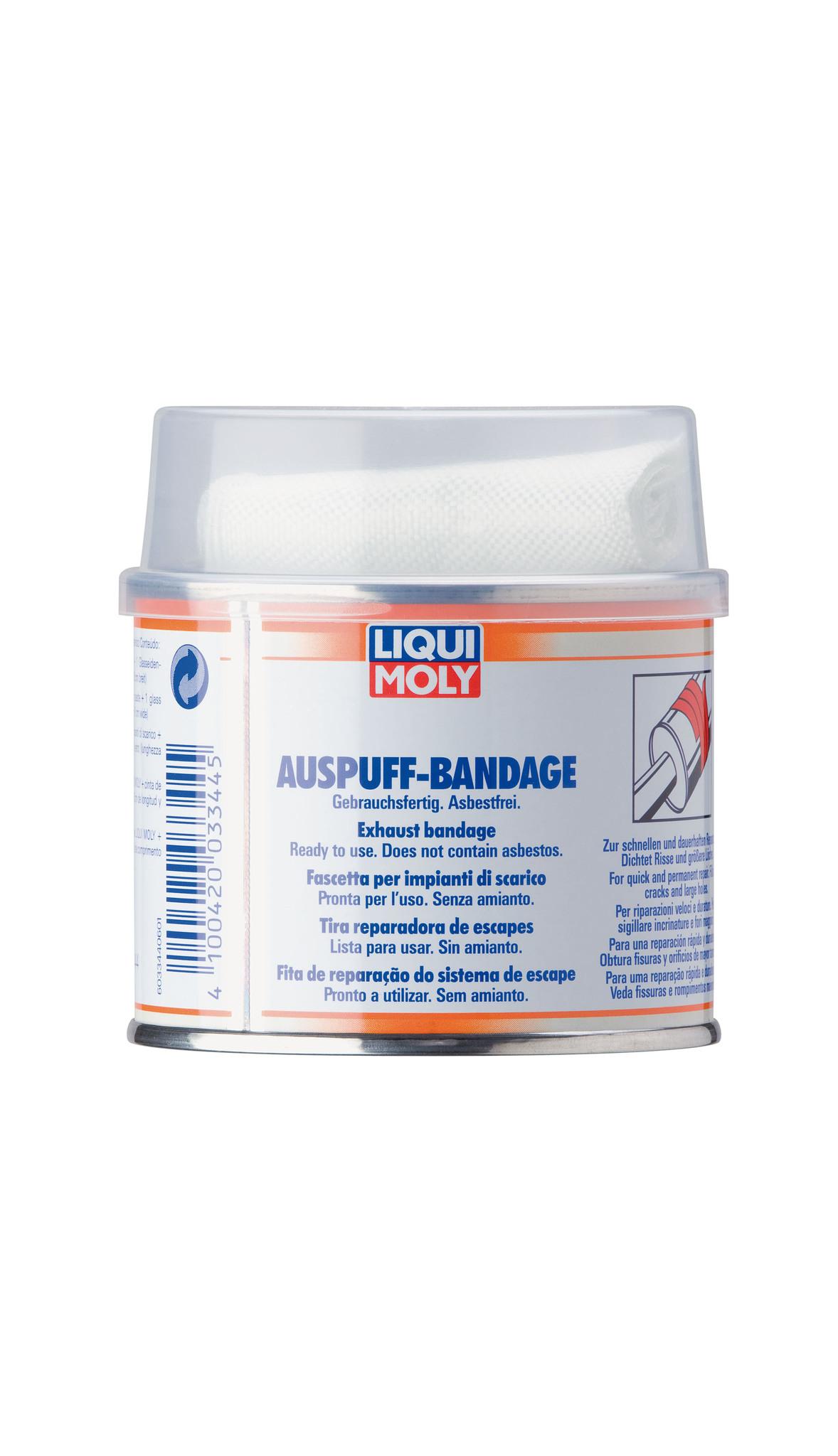 Liqui Moly Auspuff Bandage gebrauchsfertig Бандаж для ремонта системы выхлопа