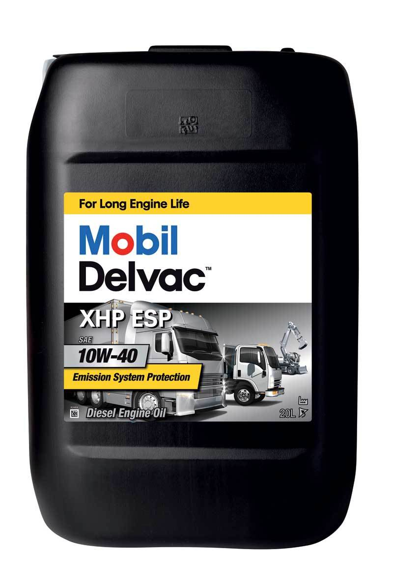 Mobil Delvac XHP ESP 10W40 Синтетическое дизельное моторное масло
