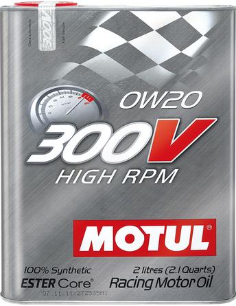 Motul 300V High RPM 0W20  Синтетическое моторное масло