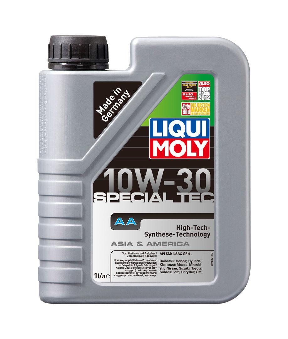 Liqui Moly Leichtlauf Special AA 10W-30 HC-синтетическое для американских и японских автомобилей