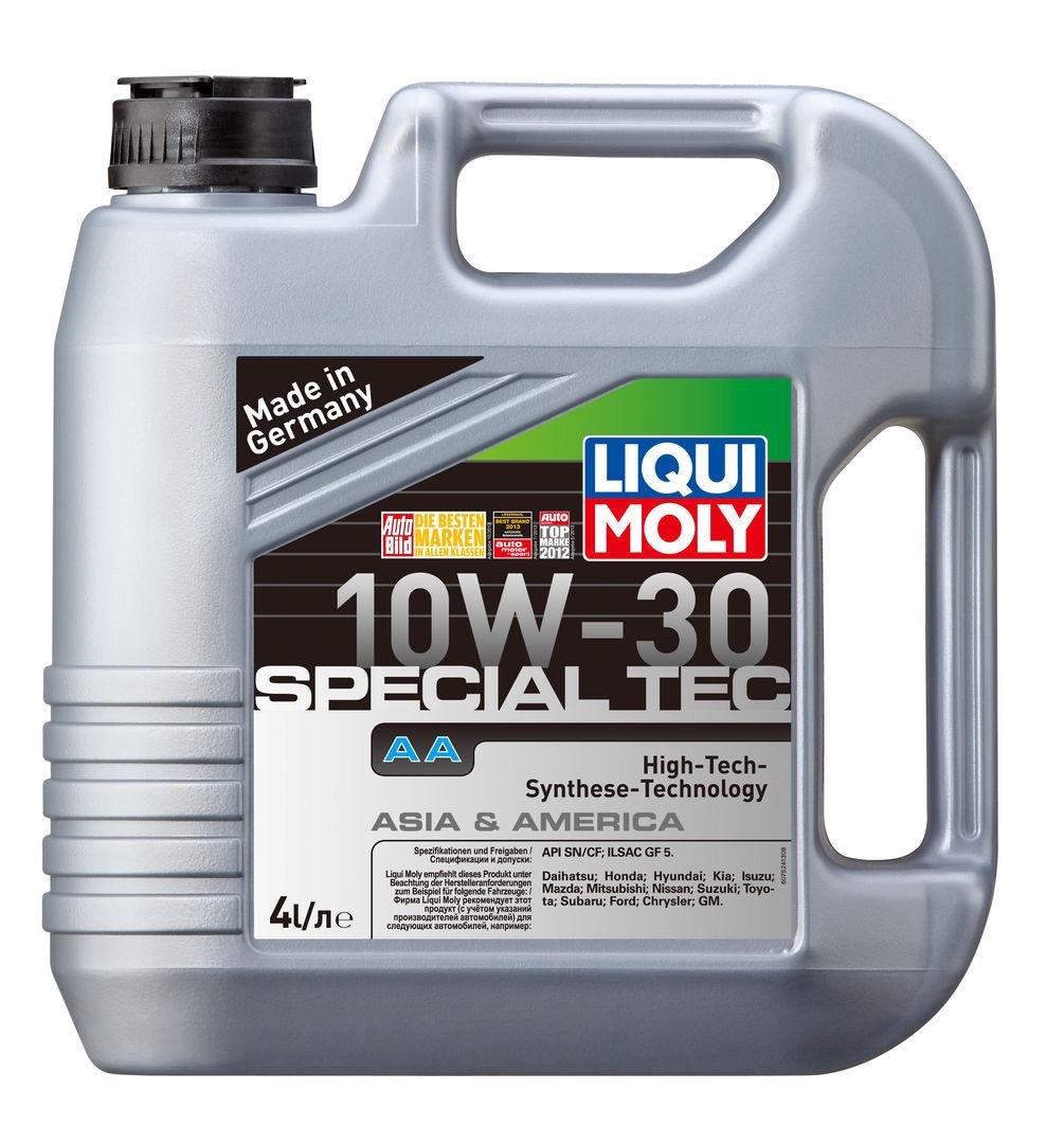 Liqui Moly Leichtlauf Special AA 10W30 HC синтетическое для американских и японских автомобилей