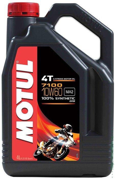 Motul 7100 4T 10W60 Синтетическое масло для мотоциклов
