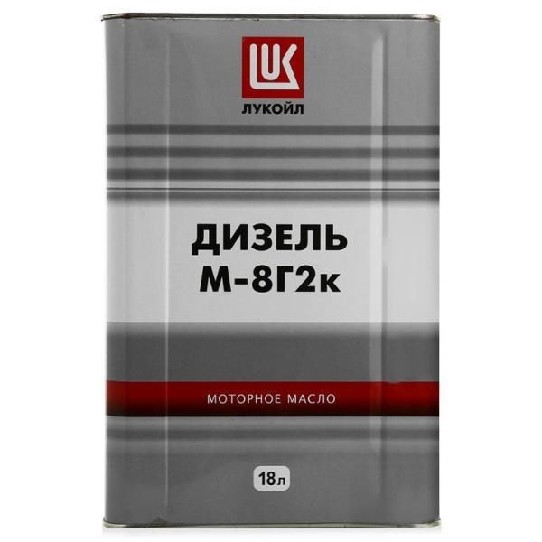 Лукойл М-8Г2К SAE30 - Дизельное минеральное моторное масло (зимнее)