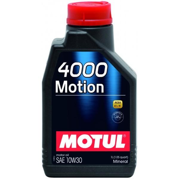 Motul 4000 Motion 10W30 Mineral Минеральное моторное масло