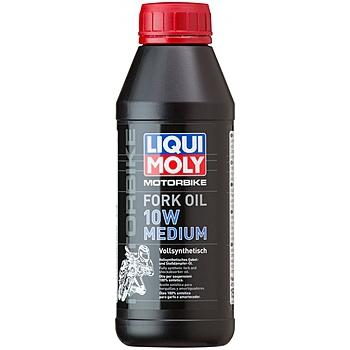 Liqui Moly Mottorad Fork Oil 10W Medium — Синтетическое масло для вилок и амортизаторов