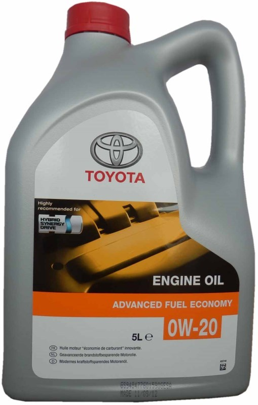 Toyota Engine Oil 0W20 Синтетическое моторное масло