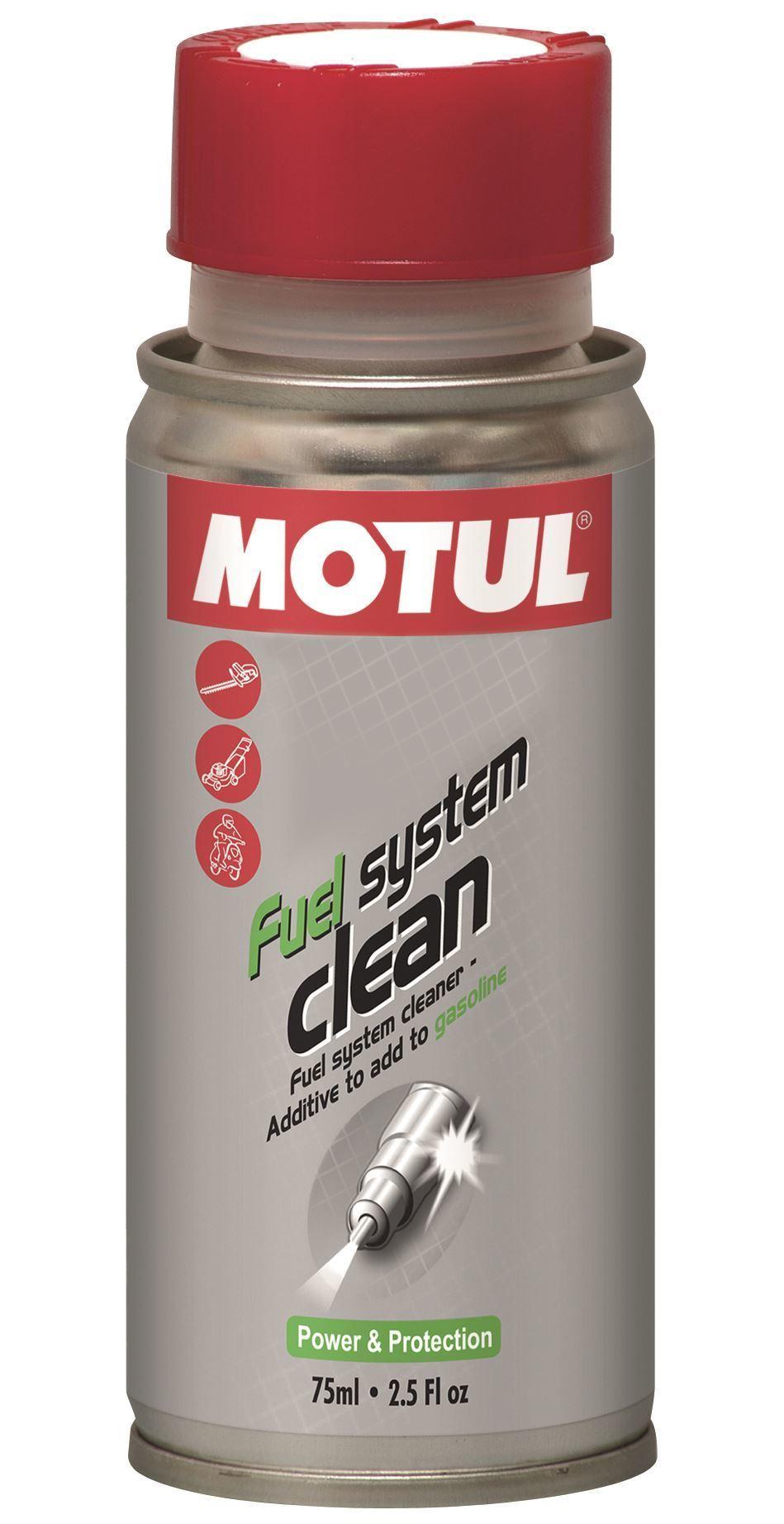 Motul Fuel System Clean Scooter Промывка топливной системы мототехники