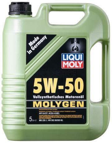 Liqui Moly Molygen 5W-50 - cинтетическое моторное масло
