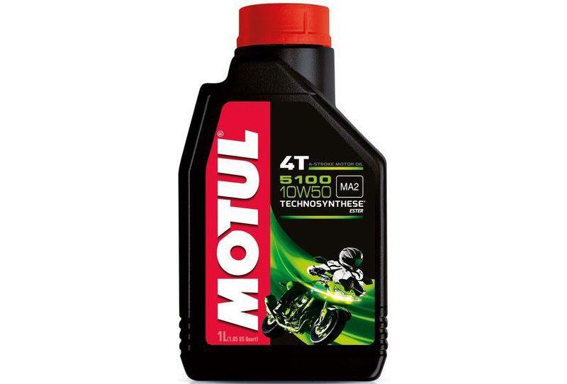 Motul 5100 4T 10W50 Моторное масло для мотоциклов