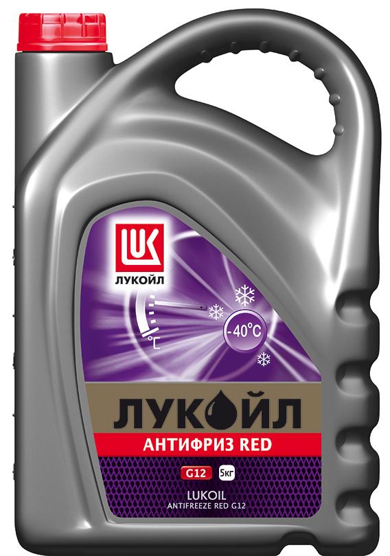 Лукойл G12 Red - Антифриз готовый (красного цвета)