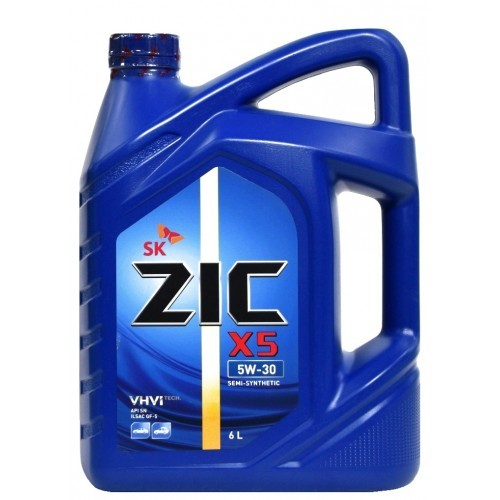 Zic X5 5W30 Полусинтетическое моторное масло