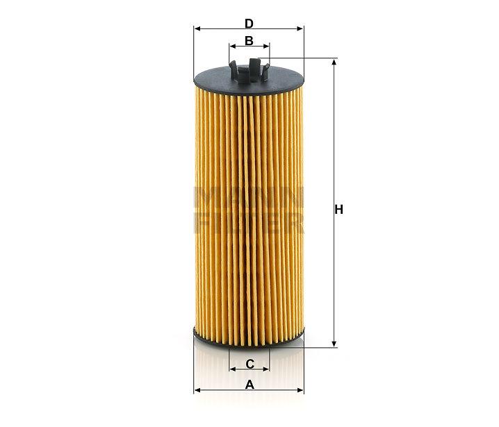 Фильтр масляный MANN HU 6008 Z