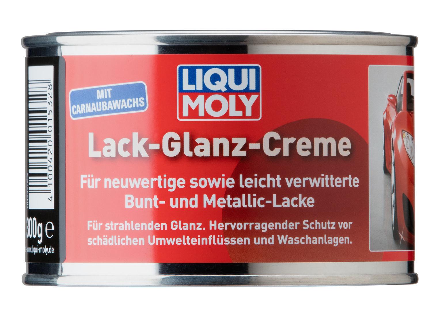 Liqui Moly Lack Glanz Creme (банка) Полироль для глянцевых поверхностей