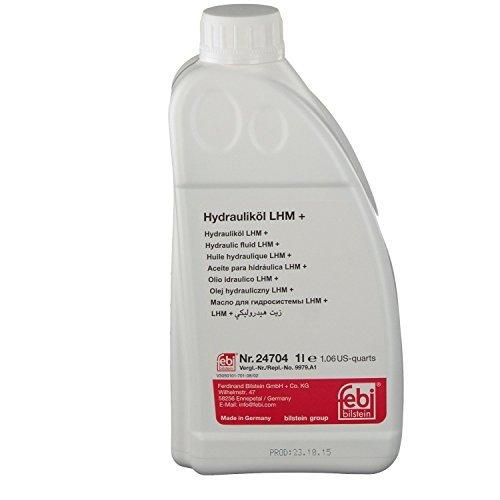 FEBI Hydraulic Fluid LHM Plus (1л) - Жидкость гидроусилителя (зеленая)