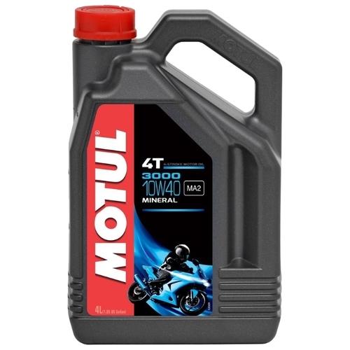 Motul  3000 4T 10W40 Минеральное масло для четырехтактных двигателей