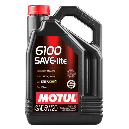 Motul 6100 Save Lite 5W20 Синтетическое моторное масло