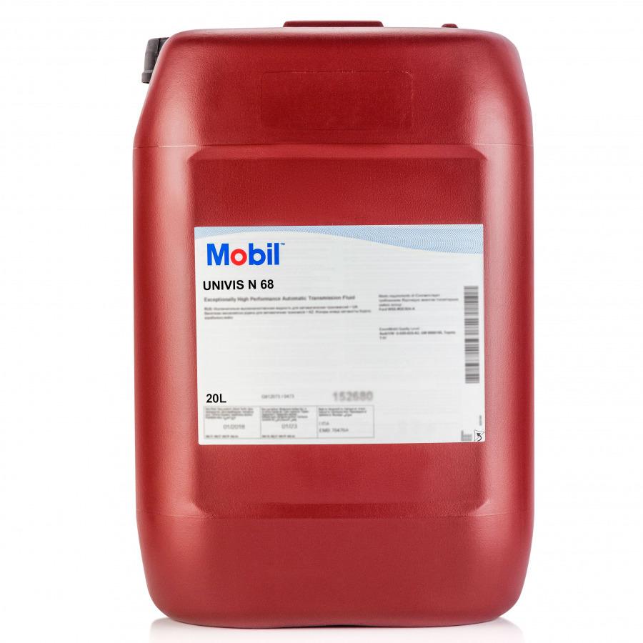 Mobil Univis N 68  Гидравлическое масло премиум класса 20 л
