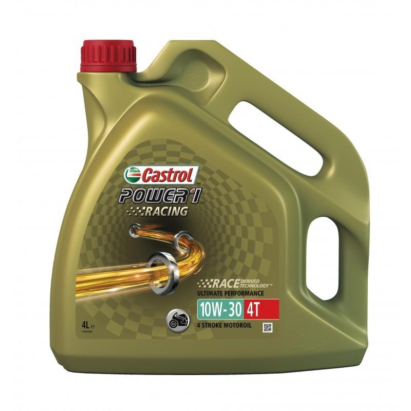 Castrol Power Racing 10W30 4T Синтетическое мотоциклетное масло