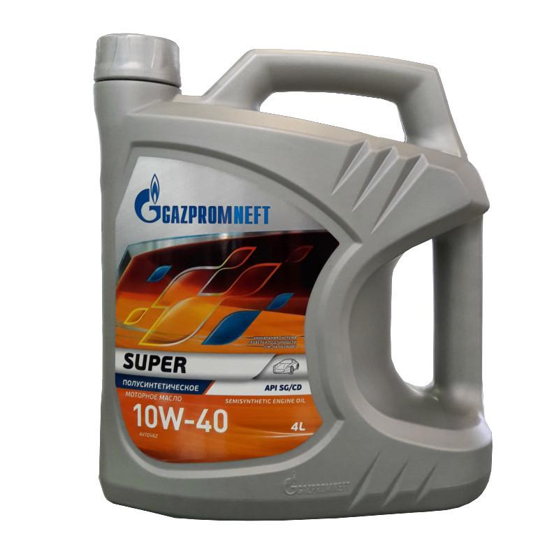 Gazpromneft Super 10W40 Полусинтетическое моторное масло