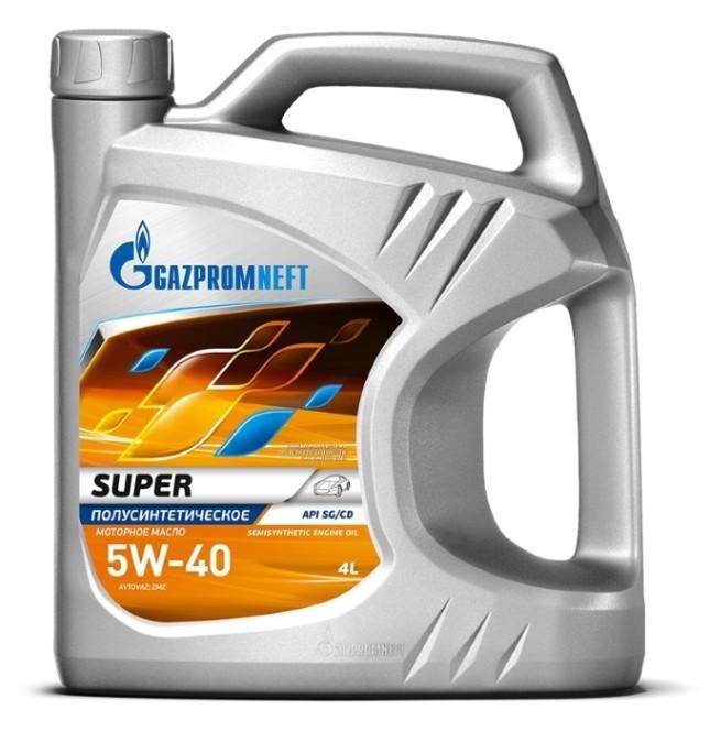 Gazpromneft Super 5W40 Полусинтетическое моторное масло