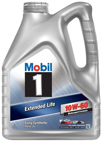 Mobil 1 10W-60 - синтетическое моторное масло