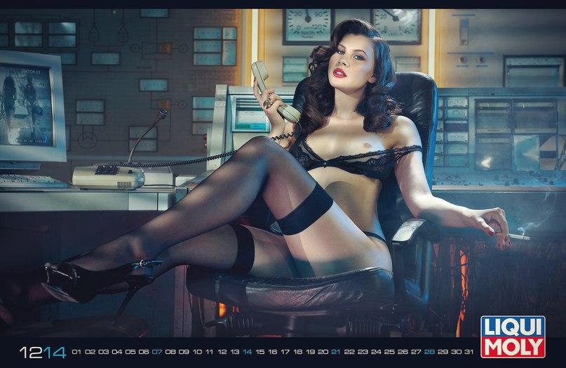 Эротический календарь 2015 Liqui Moly